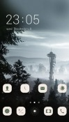 Seattle View CLauncher Android Mobile Phone Theme