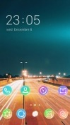 Road Lights CLauncher Android Mobile Phone Theme