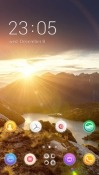 Sunshine CLauncher Android Mobile Phone Theme
