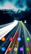 Busy Road CLauncher Android Mobile Phone Theme