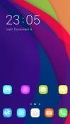 Rainbow Colors CLauncher Android Mobile Phone Theme