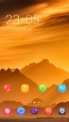 Golden Nature CLauncher Android Mobile Phone Theme