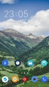 Mountains CLauncher HTC U11+ Theme
