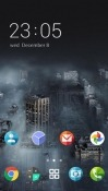 Dark City CLauncher Android Mobile Phone Theme