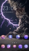 Thunder CLauncher Android Mobile Phone Theme