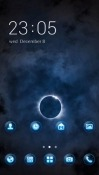 Dark Moon CLauncher Android Mobile Phone Theme