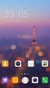 Paris CLauncher Android Mobile Phone Theme