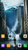 Tsunami CLauncher Android Mobile Phone Theme