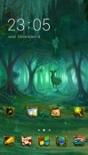 Forest CLauncher Nokia 2.1 Theme