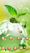 Green Planet CLauncher Meizu 16 Plus Theme
