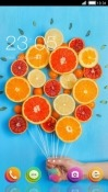 Lemon And Orange CLauncher Android Mobile Phone Theme