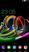 Neon Music CLauncher Android Mobile Phone Theme