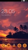 Sunset CLauncher Android Mobile Phone Theme
