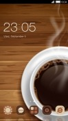 Coffee CLauncher Samsung Galaxy S9+ Theme