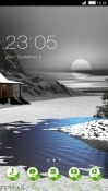 Lake CLauncher Samsung Galaxy S9+ Theme