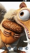 Ice Age Scrat CLauncher Android Mobile Phone Theme