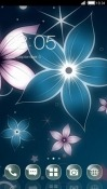 Fantasy Flowers CLauncher Android Mobile Phone Theme