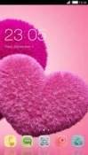 Love Hearts CLauncher Android Mobile Phone Theme