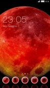 Red Moon CLauncher Android Mobile Phone Theme