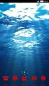 Under Water CLauncher Android Mobile Phone Theme