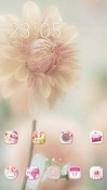 Flower CLauncher Android Mobile Phone Theme