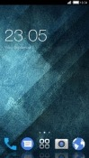 Blue Abstract CLauncher Android Mobile Phone Theme
