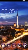 City Night CLauncher Android Mobile Phone Theme
