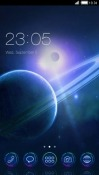Saturn Space CLauncher Android Mobile Phone Theme