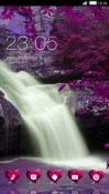 Waterfall CLauncher Nokia 7.1 Theme