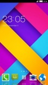 Colorful Strips CLauncher Android Mobile Phone Theme