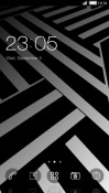 Zigzag CLauncher Android Mobile Phone Theme