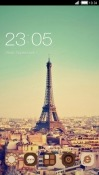 Vintage Paris CLauncher RED Hydrogen One Theme