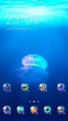 Jellyfish CLauncher Android Mobile Phone Theme