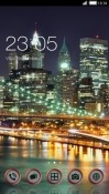 City Lights CLauncher Alcatel 1x (2019) Theme