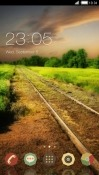 Railway Track CLauncher Alcatel 1x (2019) Theme