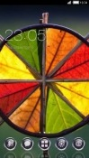Colorful Leaves CLauncher Alcatel 1x (2019) Theme