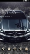 Mercedes CLauncher Android Mobile Phone Theme