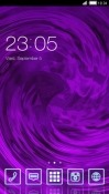 Purple CLauncher Android Mobile Phone Theme