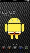 Spongedroid CLauncher Sharp Aquos R2 compact Theme