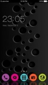 Black CLauncher Android Mobile Phone Theme