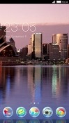 City CLauncher Samsung Galaxy J2 Pro (2018) Theme