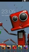 Robot CLauncher Samsung Galaxy J2 Pro (2018) Theme