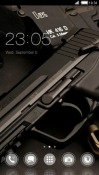 Gun CLauncher Android Mobile Phone Theme