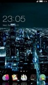 City Nights CLauncher Android Mobile Phone Theme