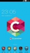 Custom CLauncher Android Mobile Phone Theme