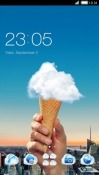 Cloud Cone CLauncher Oppo A7 Theme