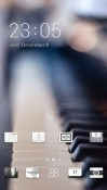 Piano CLauncher Oppo A7 Theme