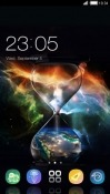 Hour Glass CLauncher Asus Zenfone 4 Max ZC520KL Theme