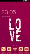 Love CLauncher Motorola P40 Theme