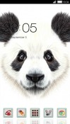 Panda CLauncher Plum Phantom 2 Theme